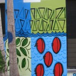 Yirrkala Youth Centre mural, detail