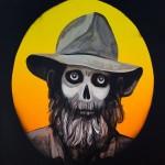 Undead Drover, 2010, Acrylic on canvas, 91 x 102cm