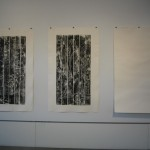 Prints from picnic tables, 2010