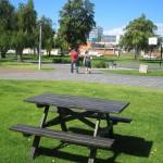 Picnic table, 2010, Victoria Square, Adelaide