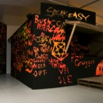 Speakeasy, 2007, Install view, Experimental Art Foundation, Adelaide
