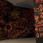 Speakeasy, 2007, Install view (detail), Experimental Art Foundation, Adelaide
