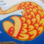 Adelaide City Council, North Tce mural, detail
