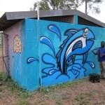 Gunyangara mural painting, 2012