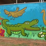 Yirrkala mural painting, 2012