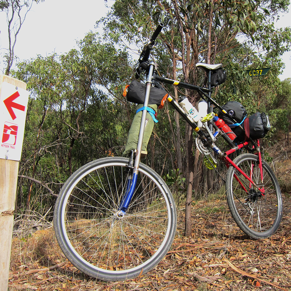 Heysen Trail Tall Bike Adventure lo res