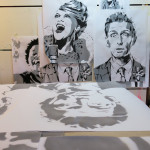 James Dodd Cabaret Stencils Studio 1